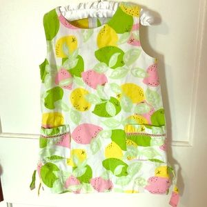 Lemon and Lime Lilly Pulitzer Dress